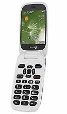 Doro 6520 Big Button 3g Mobile Phone Unlocked Sim- 1yr - Graphite B