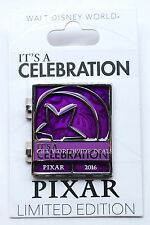 Disney Pixar It's a Celebration Countdown Pin 2016 LE 750 Monster's Inc Boo