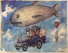 """ORIGINAL Watercolor Painting The Voyage  11"""" x 14""""  NOT A PRINT"""
