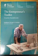 The Great Courses: The Entrepreneur's Toolkit 12 CD's