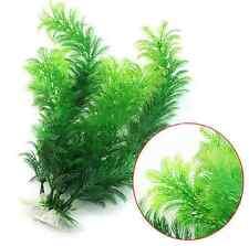 Aquarium Plastic Plants Tropical Green Artificial Fish Tank Aquatic Grass 1PCS
