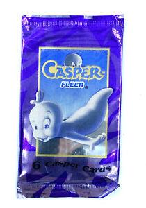 Booster Pack Casper - Paquet 6 cartes - Fleer 1995 -  JCC Trading Cards
