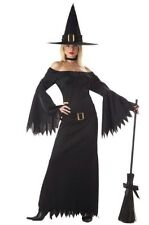 Elegant Witch Adult Gothic Fancy Dress Party Halloween Costume