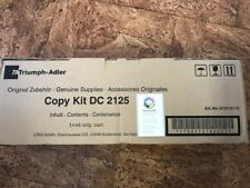 612510115 Ta Triumph-Adler Toner Copiare Kit Dc 2125 Nuovo Conf. Orig.