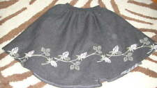 EURO BOUTIQUE BUFI 36M 3T WOOL FLORAL SKIRT