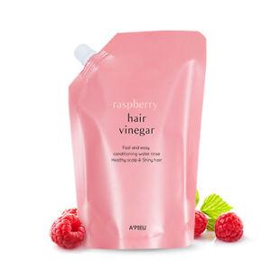 A'PIEU Raspberry Hair Vinegar 400mL (Refill)