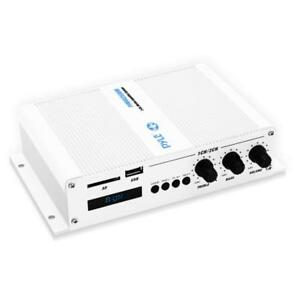 2-Ch. Bluetooth Marine Amplifier, Weather Resistant Wireless Audio Amp System