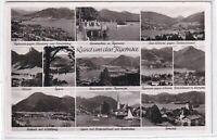 Ansichtskarte Kreuth/Egern/Gmund/Bad Wiessee/Rottach/Tegernsee/Landeplatz - s/w