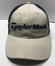 Taylor Made Cap Hat Adjustable Mesh Golf Cotton Polyester