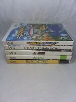 Nintendo Wii Game Lot/See Description for details and photos/5 Games total