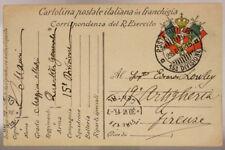 POSTA MILITARE 15^ DIVISIONE 28.6.1915  FRANCHIGIA DAL QUARTIER GENERALE #XP262B