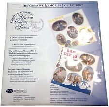 Creative Memories Custom Cutting System Ovals - NIP