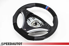 Flattened Alcantara Leather steering wheel BMW M-POWER E90, E91 NEW - FRAME 3