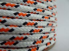 """1/4"""" x 100 ft. Double Braid~Yacht Braid polyester rope .Sailboat Line. US"""