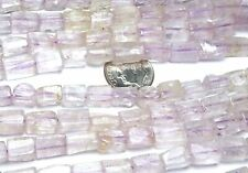 "15"" KUNZITE Pink 7-10mm Rectangle Beads NATURAL STONE"