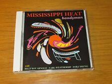 Handyman by Mississippi Heat (CD, Jul-1999, Van Der Linden) USED/VERY GOOD BLUES