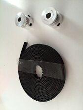 GT2 Set: 2 x GT2 Pulley 16Z + 2M GT2 Band 3D Drucker  Versand gleicher Tag