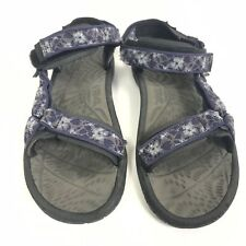 Teva Women's size 10 Blue Floral Hiking Sandals