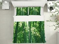 3D Bamboo Forest ZHUA3564 Bed Pillowcases Quilt Duvet Cover Set Queen King Zoe