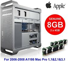 8GB Kit DDR2 (2x4GB) Genuine Apple Memory for 2006-2008 Mac Pro 1,1 - 3,1 A1186