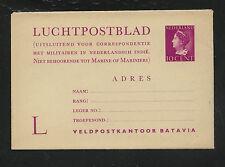 Netherlands  postal  letter  card   unused         KL0513
