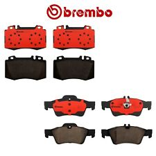 Brembo Front and Rear Ceramic Brake Pad Sets Kit For Mercedes CL CLS E S CLASS