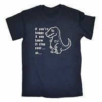 If Youre Happy Clap Your Hands T-SHIRT Dinosaur T-REX Dino birthday fashion gift