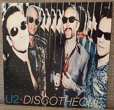 "U2 Discotheque 12"" single LP vinyl Not POP Joshua Tree New Order Depeche Mode"
