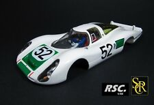 SRC 1:32 PORSCHE 907 L DAYTONA 1968 - SIFFERT / HERMANN COMPLETE SLOT BODY