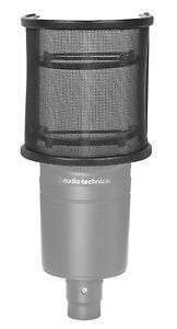 Rockville Pop Filter Curved Microphone Windscreen for Audio Technica AT2020 Mic