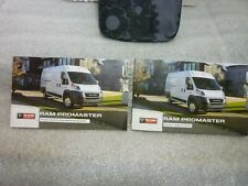 Ram Promaster 2020 Quick Reference Guide & Owners Manual Oem