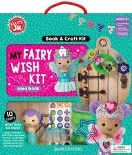 MY FAIRY WISH KIT - MAKE 10 CRAFTS KIDS ACTIVITY KLUTZ JR BOOK & CRAFT KIT