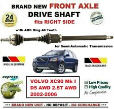 FOR VOLVO XC90 I D5 AWD 2.5T AWD 2002-2006 BRAND NEW FRONT AXLE RIGHT DRIVESHAFT