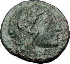 LYSIMACHEIA founded by Lysimachos Thrace 309BC Hercules Nike Greek Coin i60986