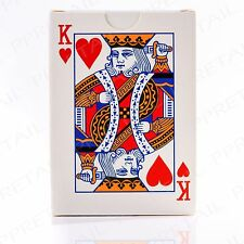 52 CARD FULL DECK Playing Card Set Fun Gambling Games Party Magic Trick Magician