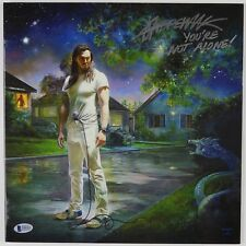 Andrew WK Beckett Signed Autograph Record Album You're Not Alone