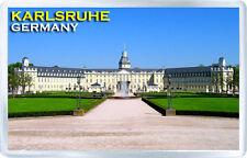 KARLSRUHE GERMANY FRIDGE MAGNET SOUVENIR IMAN NEVERA