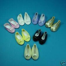 1 Paire chaussure ballerine blanche convient aux chéries de corolle 33cm