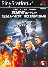 Juego Ps2: Fantastic Four Rise Of The Silver Surfer' Pal Uk'