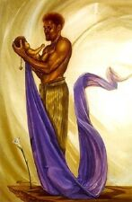 African American Art Print - Joy of His World - Kevin A. Williams WAK - 34x24