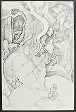 ALBANESE et INTORCIA :  AWAKENINGS (...) dessin  n° 3 (fée, fantaisie, magie )