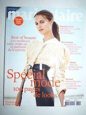 Magazine MARIE CLAIRE french #769 septembre 2016 spécial mode Alicia Vikander 1