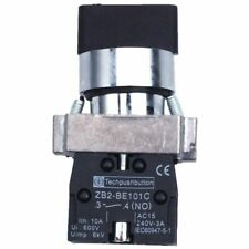 FP 2 Pcs 2no DPST 3 Positions Maintained Rotary Selector Switch 600v 10a