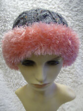 Candy Cossack Ladies Hat - Easy Knitting Pattern