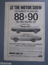 R&L Ex-Mag Advert: Ford, Lincoln, Taunus Coupe, Thunder Tudor Town Hardtop Car