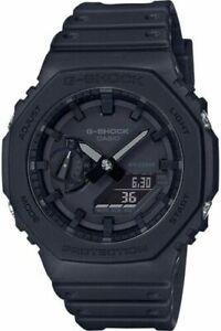 Casio G-Shock GA-2100-1A1ER - Black (CasiOak) Carbon Core Guard Watch