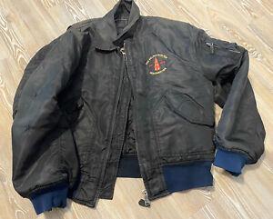 Helter Skelter 1980s Rave Bomber Jacket Large