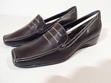 Brunella Ladies Black Leather Shoes EU 34.5 UK 2.25 Italian