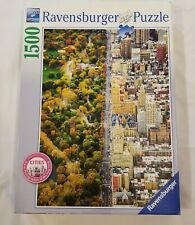 DIVIDED TOWN 1500 PC JIGSAW PUZZLE BY RAVENSBURGER CITY & COUNTRY COMPLETE