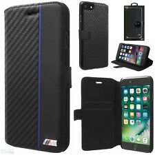 BMW M Carbon Look iPhone 8 Plus, 7 Plus, 6(s) Plus Book Cover Case Schutzhülle